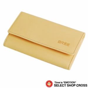 ブリー BREE 6連キーケース ヌメ革 Lund 119 Nature ナチュラル 186750119
