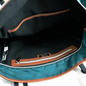 オロビアンコ Orobianco トートバッグ ARINNA SUPERPOCKET-A ブルー/ライトブラウンレザー 7026219 正規品
