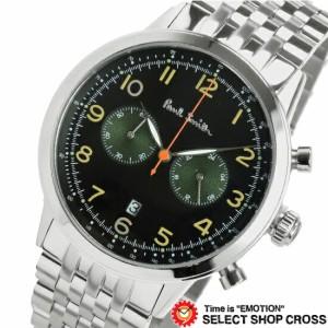 651e73a2aaed ポールスミス 【楽ギフ_包装】 P10031 腕時計 クロノ メンズ PAUL SMITH クオーツ 【送料無料】 ブラック