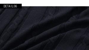 [送料無料][SALE]VICCI【ビッチ】コットンケーブル Vネック 長袖ニットソー /全7色 trend_d メンズ ビター系 [POUP]