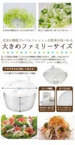 たっぷり水切りマイティ野菜水切り器[C-66][PAL]