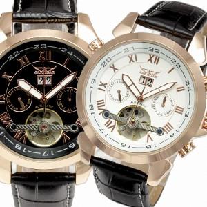 JARAGAR自動巻き腕時計ジャラガーBCG103回転式インナーベゼルにトリプルカレンダー送料無料