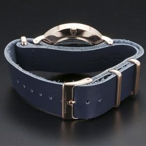 正規品SalvatoreMarra腕時計サルバトーレマーラ SM15117-PGNVPG 多軸 薄型革ベルト メンズ腕時計 送料無料