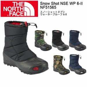 nf51565 THE NORTH FACE ザ・ノースフェイス ブーツ スノーショットヌプシウォータープルーフ 6-II Snow Shot NSE WP 6-II /NF51565 ユ