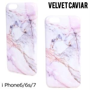 Velvet Caviar ヴェルヴェット キャビア iPhone7 6 6s ケース スマホ VIOLET SKY MARBLE IPHONE CASE レディース