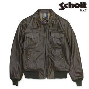 ショット Schott ライダースジャケット ジャケット レザージャケット メンズ PERFECTO LEATHER JACKET オリーブ 648 12/27 新入荷