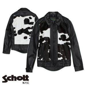 ショット Schott ライダースジャケット ジャケット レザージャケット メンズ ブラック P6422 12/27 新入荷
