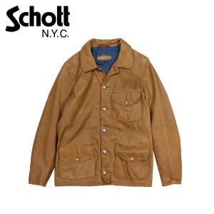 ショット Schott ジャケット レザージャケット メンズ LEATHER JACKET ブラウン P564 12/27 新入荷