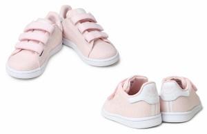 adidas アディダス スタンスミス ベルクロ スニーカー ベビー キッズ STAN SMITH CF I S32178 S32179 ネイビー ピンク