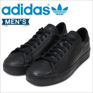 adidas アディダス コートバンテージ スニーカー COURT VANTAGE S76208 メンズ ブラック
