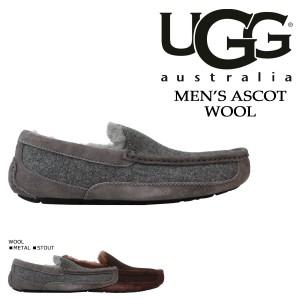 UGG アグ メンズ MEN'S ASCOT シューズ アスコット ムートン スリッポン 3233 2カラー