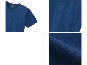 ヘインズ:【メンズ】ポケット付きTシャツ【Hanes 半袖  Tシャツ アパレル】