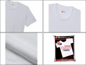 ヘインズ:【メンズ】アカラベルクルーネックTシャツ【Hanes 半袖  Tシャツ アパレル】