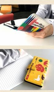 スマホケース 手帳型 FREETEL KATANA02 スマホカバー 手帳 かわいい ユニーク クール クレパス