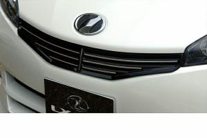 LX-MODE LXモード エアロ20系ウィッシュ 前期 【S/Z】LXブラックフロントグリル(艶有りブラック塗装済み)