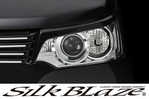 SilkBlaze Lynx シルクブレイズ エアロ【MH34 ワゴンRスティングレー】 アイライン(未塗装)
