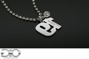 【送料込み】 SUPER GT × GIO 【Car No.19 - RACING PROJECT BANDOH】 SUPER GT(GTA)公認 スーパーGTカーナンバーネックレス [GT300]