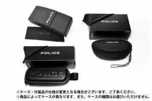 【国内正規品】ポリス サングラス POLICE S8669G 0627 ダークブラウン/ブラウングラデーション