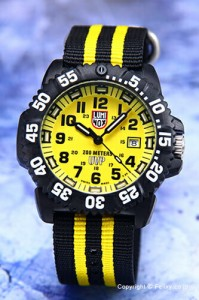 LUMINOX ルミノックス メンズ腕時計 スコット・キャセル スペシャルエディション イエロー 3955.SET