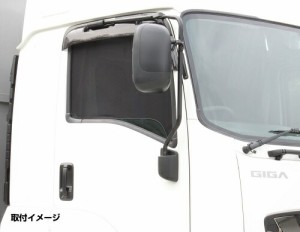 【ECOネット(左右セット)いすゞ大型ファイブスターギガ用】