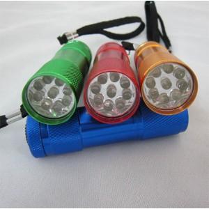 9LED Flashlight(9LEDフラッシュライト)【メール便対応】【送料込/送料無料】