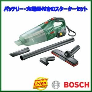 ▼Bosch(ボッシュ) バッテリークリーナーセット PAS18LI[バッテリーと充電器付のスーターターキット Bosch Corporation セット品 掃