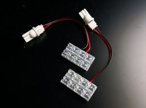 16発LEDドアランプ フロント クラウンGRS182 GRS183【メール便対応】