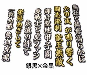 プロ野球 阪神タイガースグッズ 熱狂と興奮高らかにワッペン mo