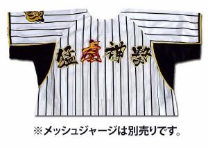 【プロ野球 阪神タイガースグッズ】猛虎神撃ワッペン(小・虎トラ柄)mo