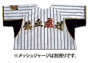 【プロ野球 阪神タイガースグッズ】熱血虎魂ワッペン(小・虎トラ柄)mo