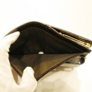 フェンディ FENDI ズッカ柄 二つ折り がまぐち財布【中古】