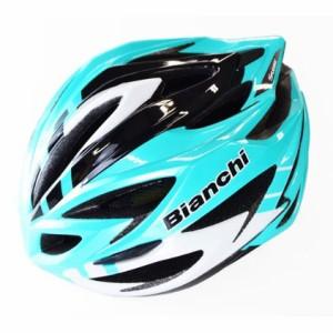 ビアンキ STEAIR(ステアー) チェレステ/ホワイト ヘルメット
