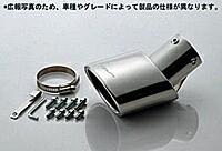 5ZIGEN マフラーカッター ニッサン モコ MG22S用(MC10-21122-002)