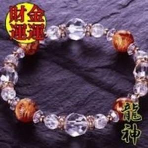 赤メノウ龍・水晶ブレス 【アクセサリー 開運グッズ 幸運アイテム パワーストーン】