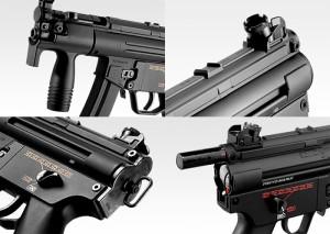東京マルイ スタンダード電動ガン H&K MP5クルツA4 【18才以上用 ヘッケラー&コック MP5シリーズ最小 MP5K A4】