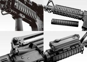東京マルイ スタンダード電動ガン M4A1 リスバージョン 【18才以上用 アメリカ軍制式採用カービン銃】