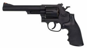 クラウンモデル No.13206 S&W M19 .357コンバットマグナム 6インチ ブラック 【18才以上用 エアリボルバー エアガン トイガン】