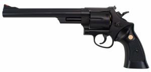 クラウンモデル No.13220 S&W M29 .44マグナム 8インチ ブラック 【18才以上用 エアリボルバー エアガン トイガン】