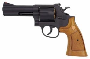 クラウンモデル No.13601 S&W M586 .357マグナム 4インチ ブラック 【10才以上用 エアリボルバー エアガン トイガン】