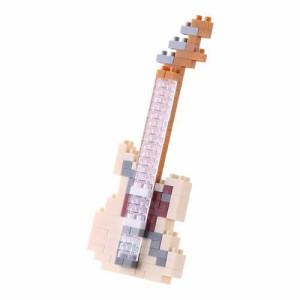 ナノブロック (nanoblock) NBC-147 エレキギターアイボリー 【ミニコレクションシリーズ 楽器 河田 カワダ】