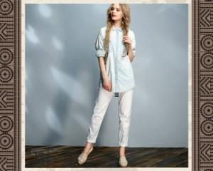オリジナルデザイン 春新作 大人可愛い ナチュラル キレイめ ホワイトデニム 白 ストレートジーンズ