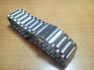 18mm時計バンド(腕時計)ベルト18ミリ ステンレススチール ブレスレット メタル バンド ベルト 時計ベルト・バンド バネ棒 サービス付