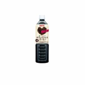 カフェインレスコーヒー 無糖 900ml×1ケース(12本入) UCC