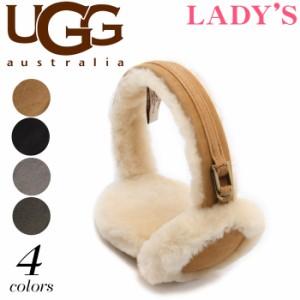 アグ オーストラリア ダブルユーロゴ イヤーマフ シープスキン UGG U1023 レディース 耳あて 送料無料!