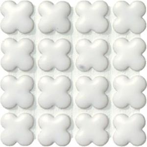 モザイクタイル フィオレッティ ASB-1313-B20 名古屋モザイク 15花形紙貼り 1シート(20×20個)