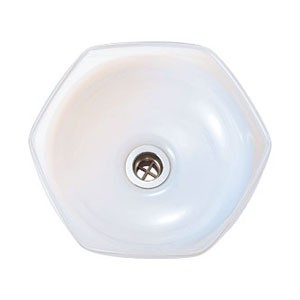 【Essence】手洗器 宙吹きガラス ガラス手洗鉢 オパールヘキサ