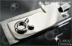 ブルガリ プレゼント LARA Christie ララクリスティー Taurus(おうし座) 星座 あす着 メンズ ブランド 送料無料 GODIVAクッキー付