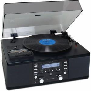 TEAC  【送料無料】 LP-R550USB-PB ターンテーブル/カセットプレーヤー付きCDレコーダー (LPR550USBPB) 【新品・税込】