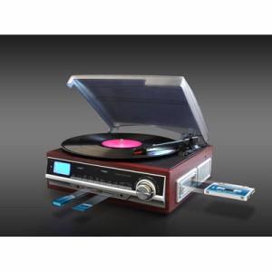 ベルソス  【送料無料】 VS-M006 マルチレコードプレーヤーS (VSM006) 【新品・税込】