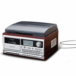 ベルソス  【送料無料】 VS-M009 マルチレコードプレーヤー (VSM009) 【新品・税込】